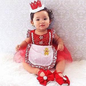 Peppermint Baby Girls Christmas Dress Prop Capture