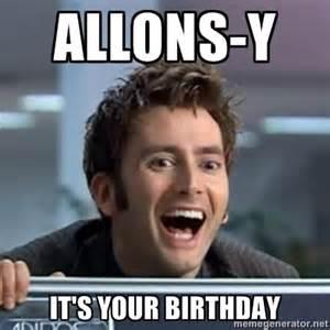 Doctor Who Happy Birthday Meme