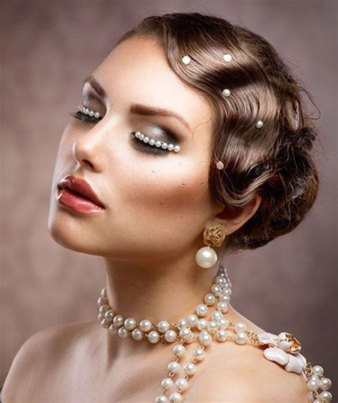 1920 Great Gatsby Hairstyles by 1920s Great Gatsby Makeup Ideas Make Up