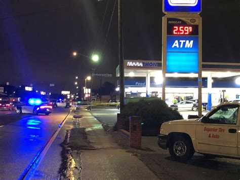 columbus police investigating shooting  marathon gas