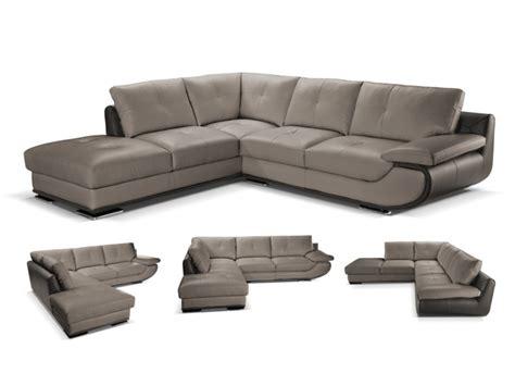 canapé cuir orgullosa canapé d 39 angle cuir luxe noir angle gauche orgullosa