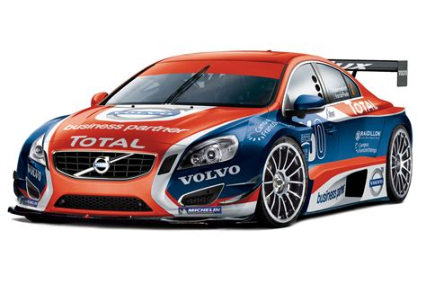 modified race cars volvo introduces race version of all new s60 sedan with
