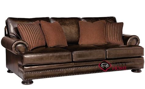 bernhardt furniture foster leather sofa quick ship foster by bernhardt leather sofa in by