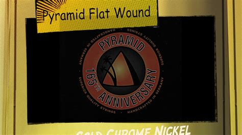 Pyramid Flat Wound Strings