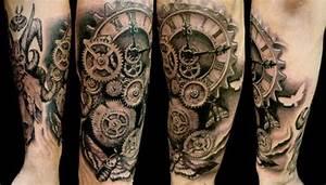 51 Coolest Steampunk Tattoo Designs | Amazing Tattoo Ideas