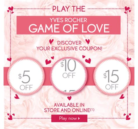 yves rocher canada  valentines day promo codes save