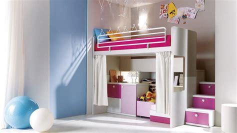 chambre avec lit mezzanine decoration chambre fille avec lit mezzanine visuel 1