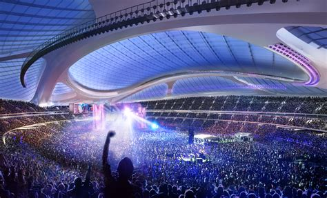 video  report  national stadium tokyo