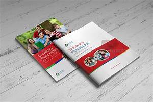 college university prospectus magazine by jbn comilla With college prospectus design template