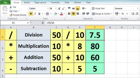 Excel 2010 Tutorial For Beginners #3