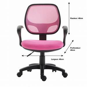 Fauteuil Pour Bébé : fauteuil de bureau pour enfant cool rose mobil meubles ~ Teatrodelosmanantiales.com Idées de Décoration