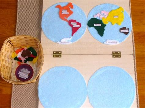 Continents, Maps And Felt On Pinterest