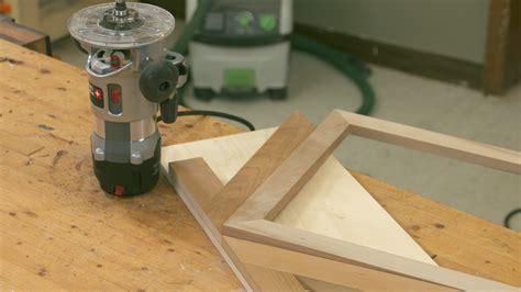 simple spline cutting jig  mitered frame wwgoa