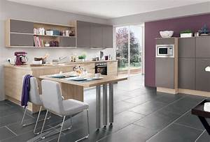 Tisch Für Kleine Küche : k chen mit esstisch ~ Bigdaddyawards.com Haus und Dekorationen