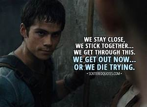 The Maze Runner (2014) Quotes | Scattered Quotes