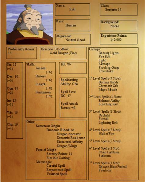 avatar nations four harmony return iroh dd geekandsundry