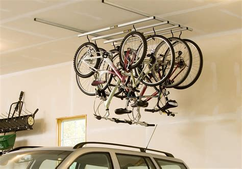 ceiling bike rack bicycle storage solutions momentum mag