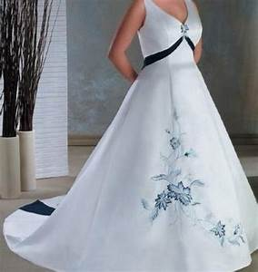 wedding gowns royal blue accents discount wedding dresses With wedding dresses with royal blue accents