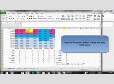 Excel Weekly Planner YouTube