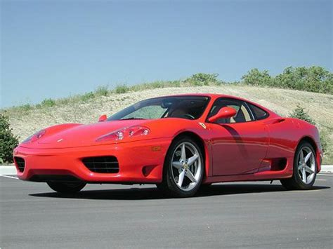 Presented in rosso corsa with crema leather and bordeaux carpets. 2001 Ferrari 360 Modena Berlinetta F1 2dr Coupe Reviews, Specs, Photos