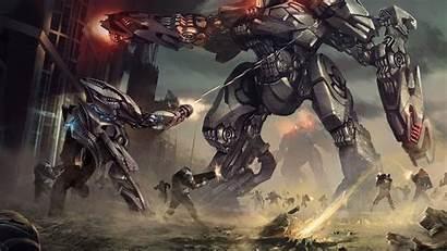 Mech Concept Battle Sci Artwork Wallpapers War