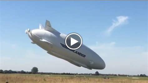 si鑒e social air l 39 aereo più grande mondo airlander 10 si è schiantato nel suo secondo volo di prova tvzap