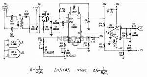 data bus circuit digital circuits nextgr With figure 91 basic block diagram of a frequency counter