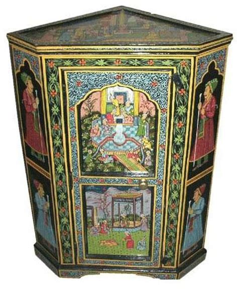 images  indian hand painted furniture  pinterest