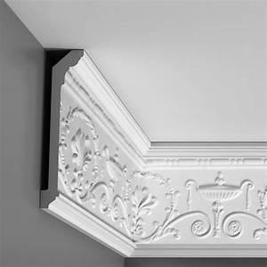 Corniche Polystyrène Pour Plafond : photos corniche pour plafond en platre plafond platre ~ Premium-room.com Idées de Décoration