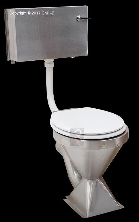pedestal stainless steel toilet pan franke model hcl