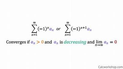Alternating Series Test Convergence Definition Divergence Properties