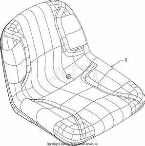 Troy Bilt Horse Xp  13cx79kt011   2016  Parts Diagram For Seat