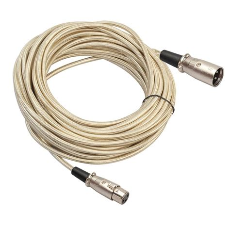 Pin Xlr Microphone Cable Male Female Mixer Camera