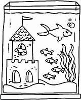 Aquarium Fish Tank Coloring Drawing Castle Inside Clipart Fishtank Cartoon Kid Draw Drawings Line Preschool Netart Getcolorings Printable Getdrawings Clipartmag sketch template