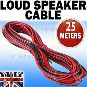 20m Loud Speaker Cable Wire Car Audio Hi