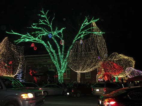 christmas lights in fort smith area razorback britt