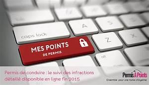 Mes Point Permis : permis de conduire le suivi d taill des infractions disponible en ligne fin 2015 ~ Maxctalentgroup.com Avis de Voitures