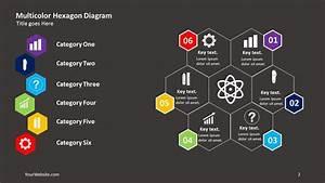 Multicolor Hexagon Powerpoint Diagram  U2013 Slide Ocean