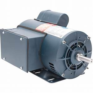 Leeson Air Compressor Electric Motor  U2014 5 Hp  Model  116511