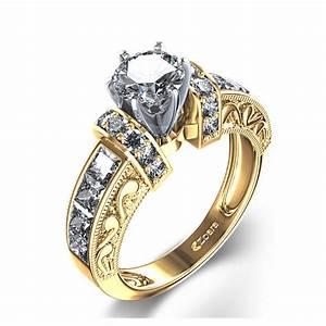 vintage diamond yellow gold wedding ringwedwebtalks With vintage yellow gold wedding rings