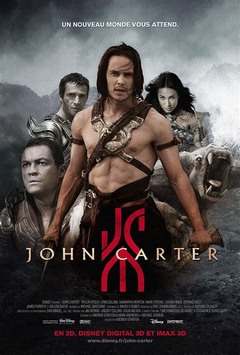 hollywood movie john carter actress name better positioning for the john carter movie french