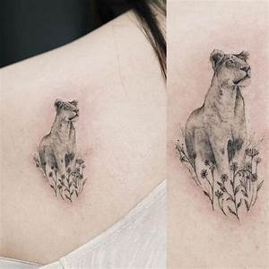 30 Lioness Tattoo Design - Female Lion Tattoo Ideas (2018)