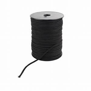 Gaine Pour Cable : gaine coton naturel tricot e pour c ble noire ~ Premium-room.com Idées de Décoration