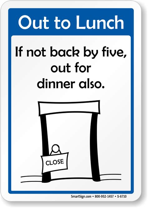office desk signs funny out of office signs