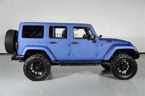 modified 4 door jeep wrangler 1c4hjwdg5fl604936 2015 starwood custom jeep wrangler 4