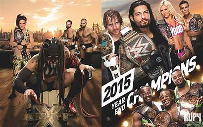 Wwe Wallpapers Nxt Champions Wrestling End Shield
