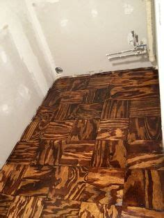 torched plywood floors oui designs  ouida gardner
