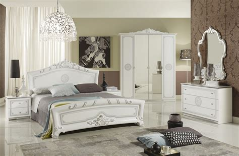Italienische Designer Möbel by Kommode Great Weiss Silber Klassik Barock Italienische