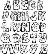 Alphabet Party Fonts Lettering Font Hand Alphabets Stylish Coloring Letters Visit Calligraphy Bubble sketch template