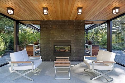 Glass House In The Garden  Modern  Patio  Boston By